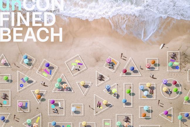 Dystans na plaży