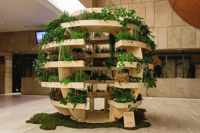 Spektakularny ogród od IKEA