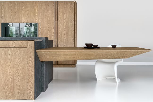Piękno drewna w kuchni