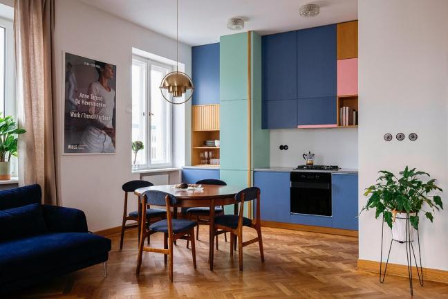 Mieszkanie w zabytkowej kamienicy na warszawskiej Pradze
