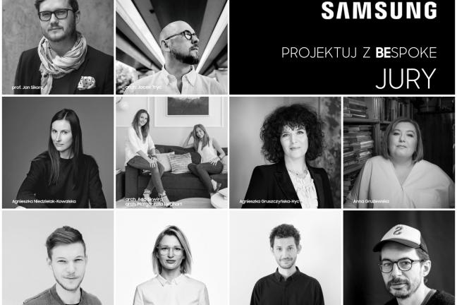 Poznaj jury konkursu Samsung Projektuj z Bespoke