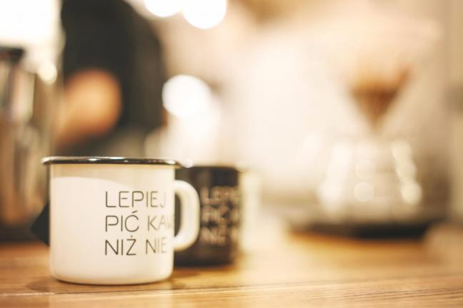 Lepiej pić kawę niż nie!
