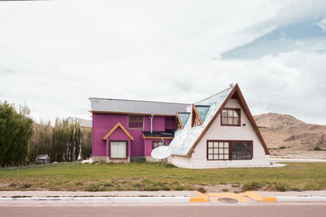 Samotne domki Patagonii