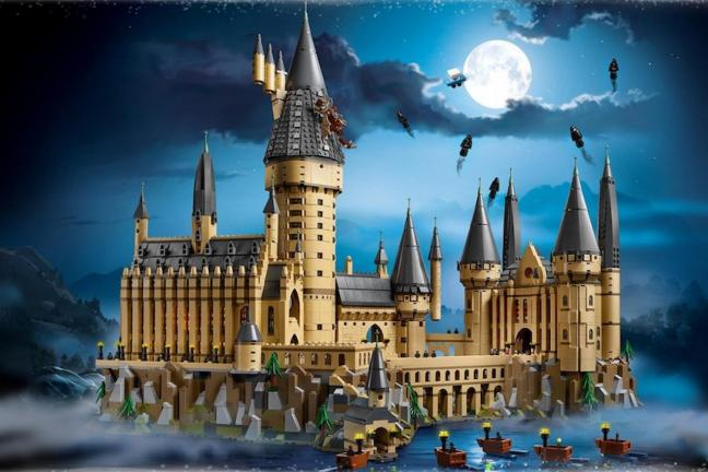 Monumentalny Hogwart z Lego