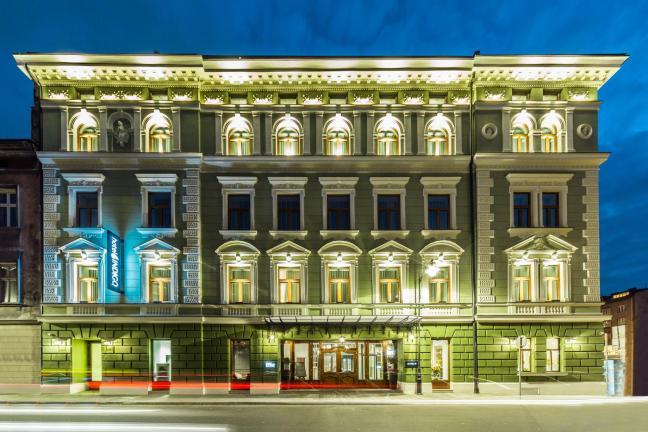 Krakowski hotel inspirowany polskim malarstwem