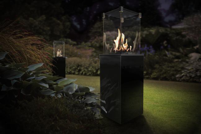 Ogień w ogrodzie