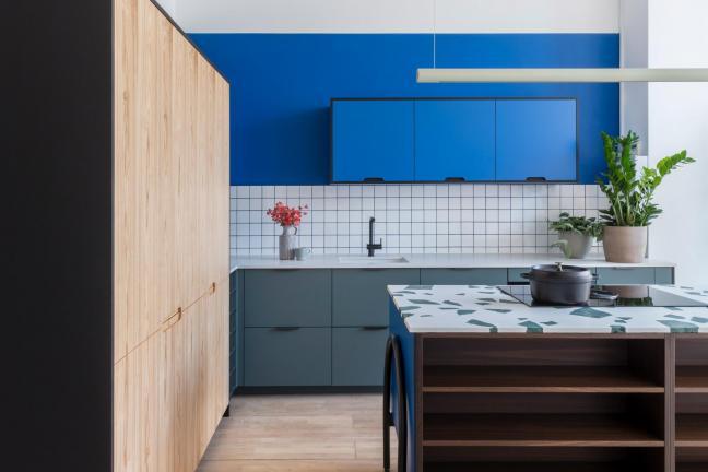 Kolorowe fronty do szafek kuchennych z IKEA