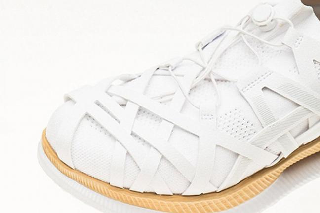 Buty projektu słynnego architekta Kengo Kumy