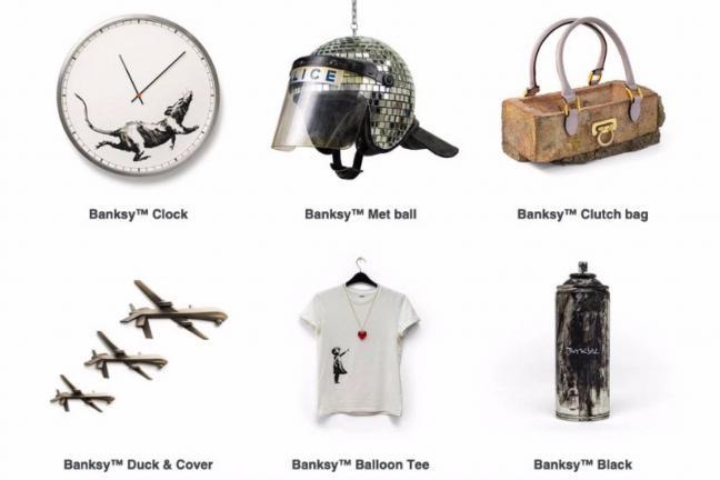 Kup pracę Banksy'ego za 10 funtów