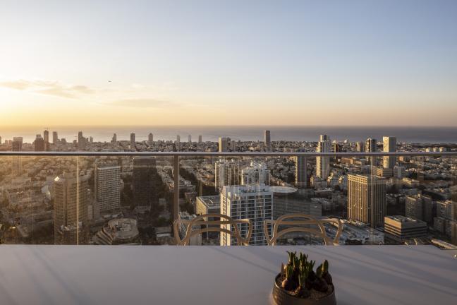 Apartament z widokiem na Tel Awiw