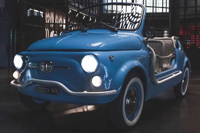 Garage Italia assembles the electric drive for the classics