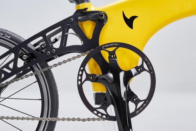 The lightest folding bike of the world