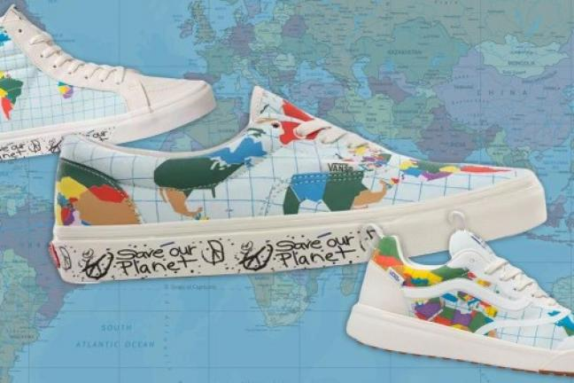 Vans has created a special collection to help the planet