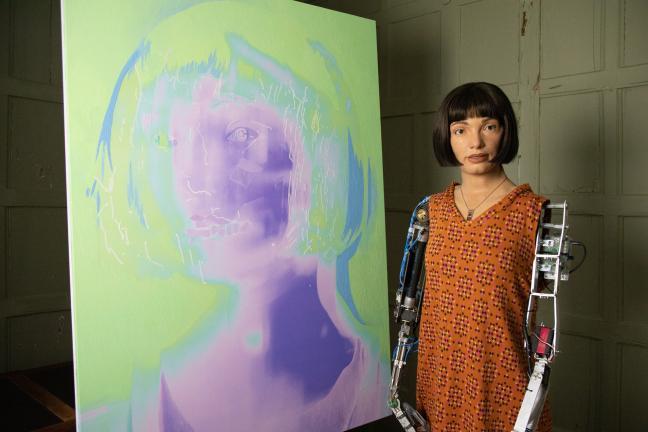 Czy robot zastąpi człowieka w tworzeniu sztuki?