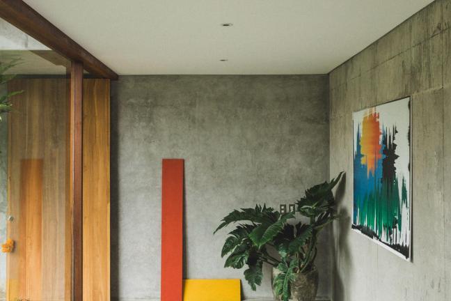 Concrete in Bali