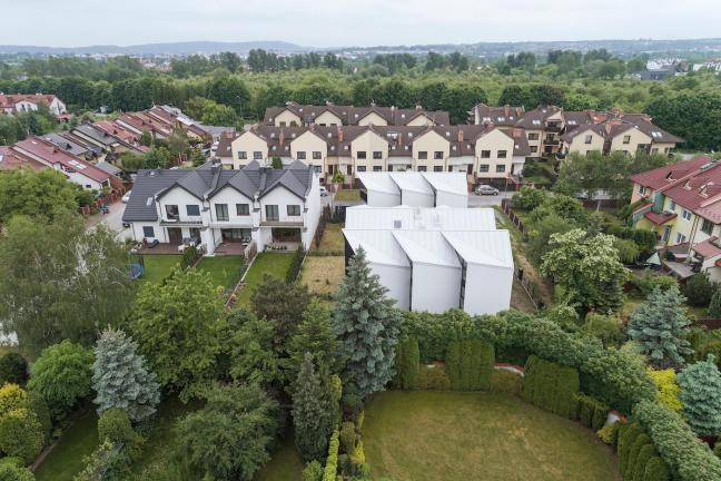 Domy ze skrzelami pod Krakowem