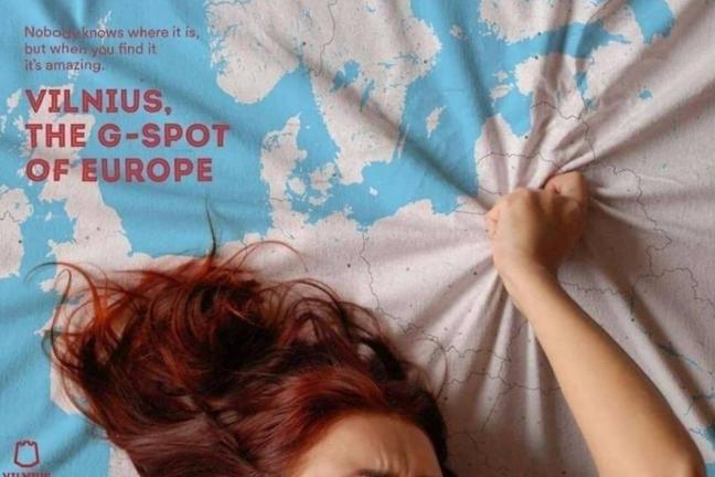 """Kampania reklamująca Wilno jako """"punkt G Europy"""""""