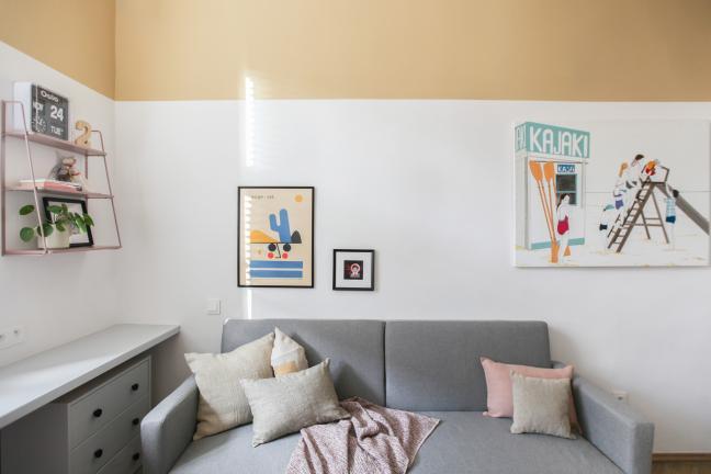 Małe mieszkanie, duża kreatywność