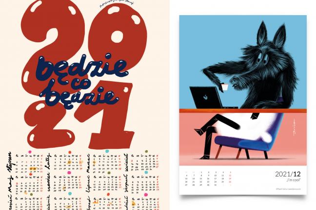 2021 – chcemy, żebyś był piękny jak te kalendarze!