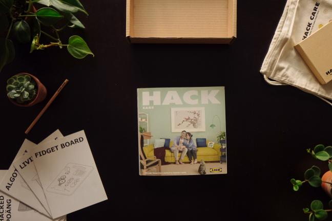 IKEA-style catalog for people with dementia