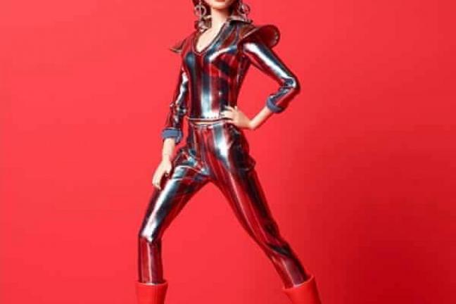 Barbie inspirowana Davidem Bowie