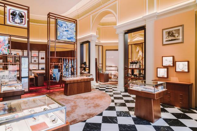 Pierwszy butik Hermès w Warszawie