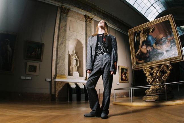 Virgil Abloh created a collection inspired by the art of Leonardo da Vinci