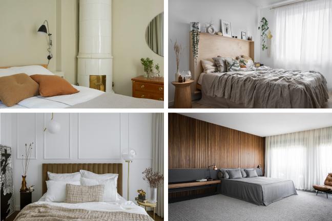 8 pomysłów na urządzenie sypialni w barwach natury