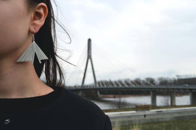 Projekt biżuterii inspirowany miastem