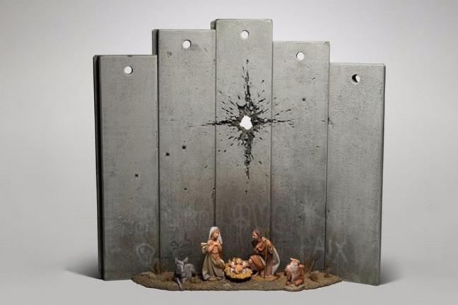 Banksy's nativity scene