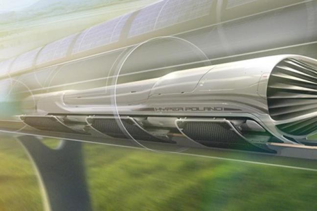 Doświadczalny tor Hyperloop powstanie w Polsce