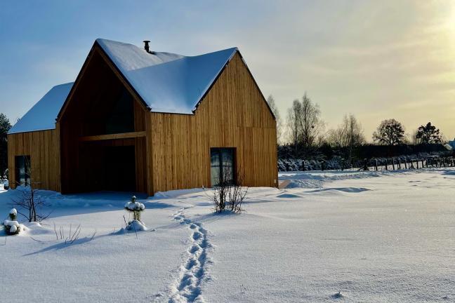 Slow living: Tatanka. Dom w Puszczy
