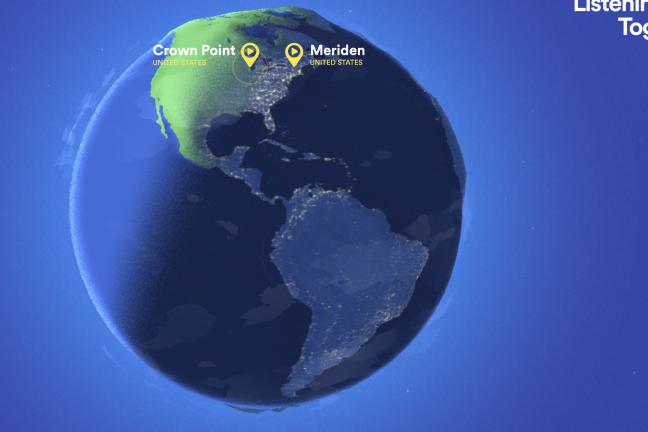 Spotify pokazuje, gdzie na świecie słucha się tej samej piosenki