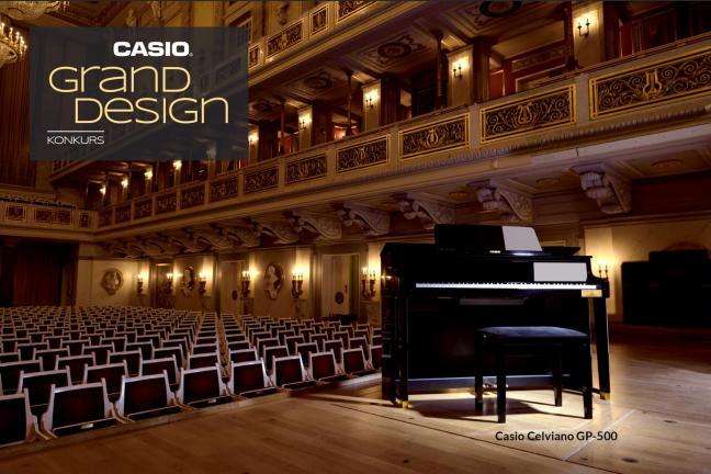 Zaprojektuj ławę do hybrydowego pianina CASIO i zgarnij 5000 zł!