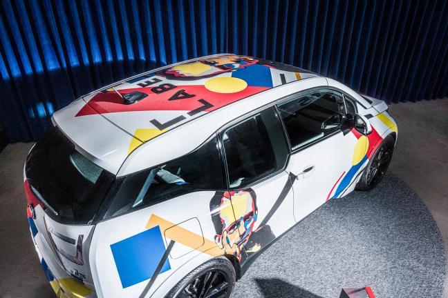 BMW i3 w wyjątkowej artystycznej odsłonie na targach Warsaw Home!
