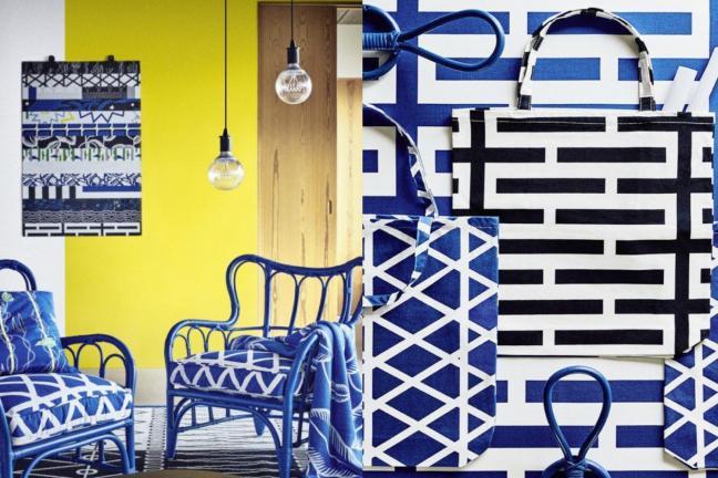 Szalone wzory w IKEA