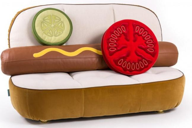 Fast Food on couch