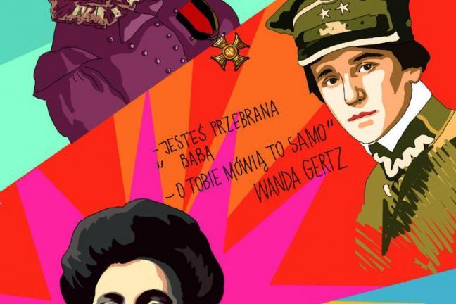 Ilustrowana historia Polski z kobietami w roli głównej