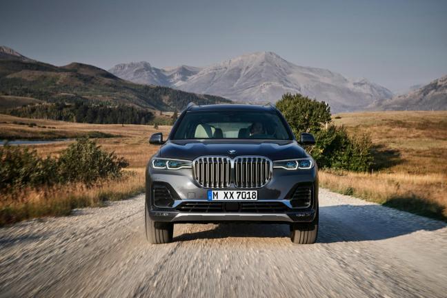 BMWX7 - elegancka fuzja prezencji i osobowości
