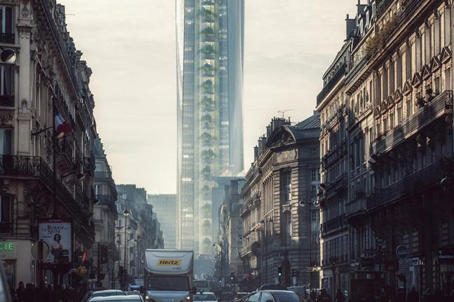 Wieżowiec, który odbije Wieżę Eiffla
