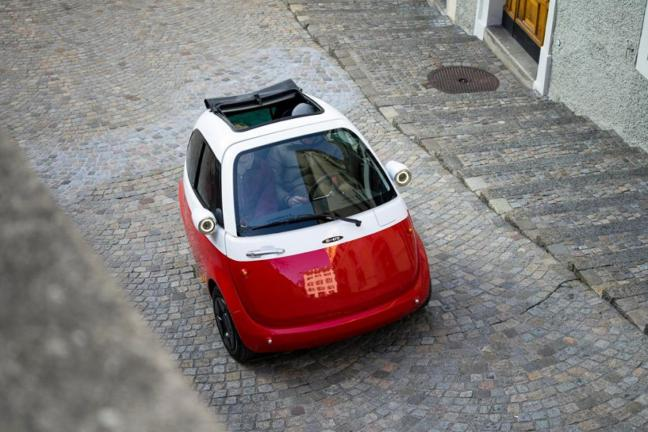 Microlino – elektryczny mini-samochód