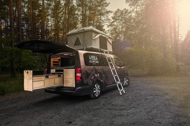 Escape Vans, czyli przygoda na kółkach