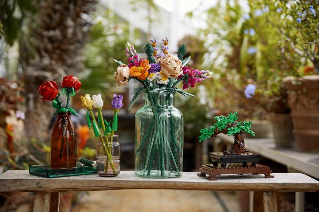 Botaniczna kolekcja Lego