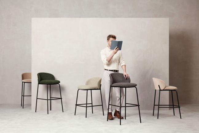 BoConcept rozszerza kultową kolekcję Princeton o nową ławkę i stołek barowy