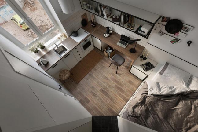 Mieszkanie na 17-tu metrach