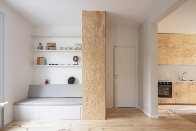 Apartment for a family of 5 on 50 meters