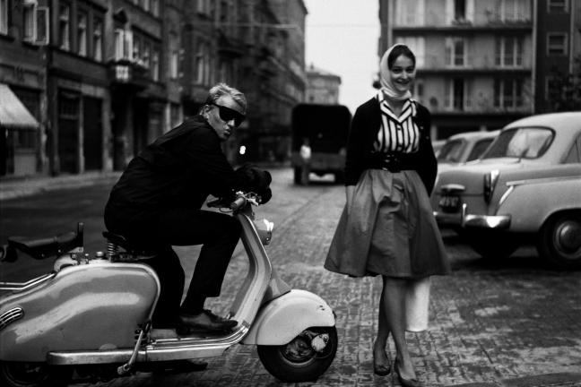 Wystawa zdjęć Warszawy w obiektywie Tadeusza Rolke