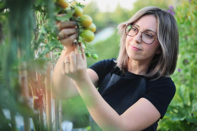 Wszystko przez pomidora! -  o własnym warzywniku opowiada Joanna Żytkowska