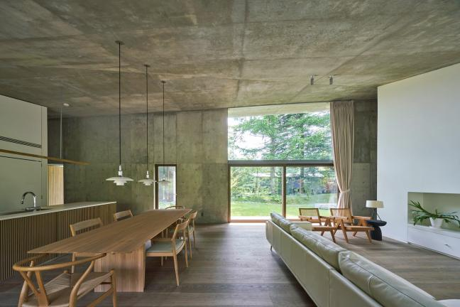 House in the Japanese mountains