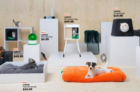 IKEA has created a collection for animals